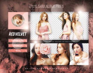 +Red Velvet Pack png 159  Boom Shakalaka Png's by WrappedInPolythene