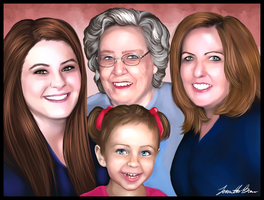 Four Generations by sugarpoultry