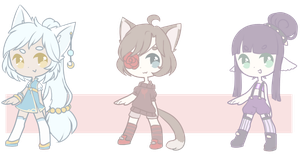 Little Adopts Batch #3 / AUCTION : CLOSED by Flarbu-Adopts