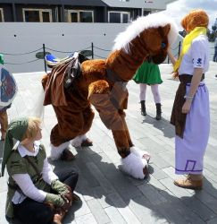 Malon,Epona and link May mcm 2014 by sharkyjr