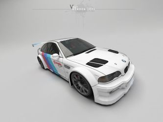 Vray-Render-Test-BMW by NAKOOT