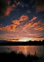 Bury Sunset . by 999999999a