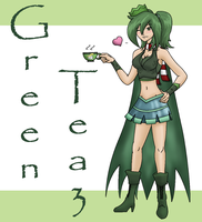 Green Tea3 by DaEliminator