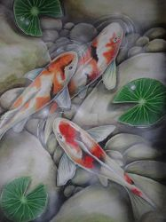 another Koi pond by martoo1973