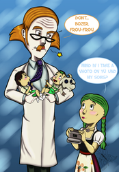 Times with Prof. Zoomottle by JWolf-97