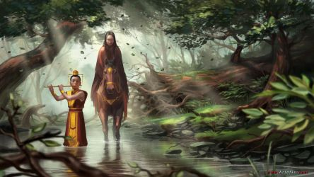 The Prince and the Peasant Girl by ArtofTu