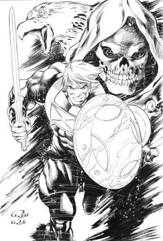 He-Man-INK by Robinker