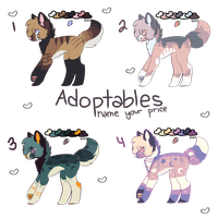 New Adopts! (CLOSED) by anxviety