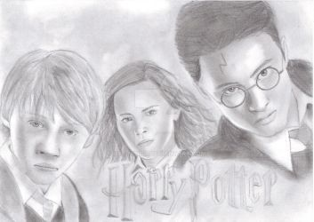 Harry Potter by Bee-Minor