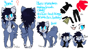 Yumi Ref Sheet by ukaine
