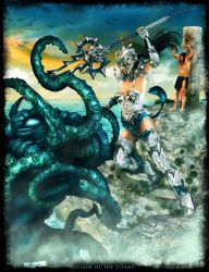Clash Of The Titans by IgnisSerpentus