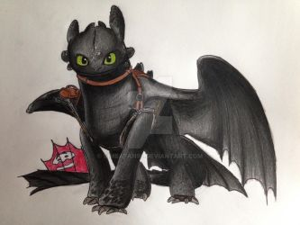 Toothless by Simbafan98