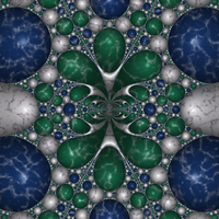Apollonian Marble 15 by rosshilbert