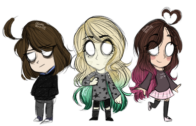 Don't Starve Trio by blucloud-zz
