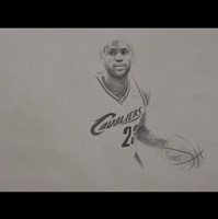 Lebron James - Pencil by Dylan21