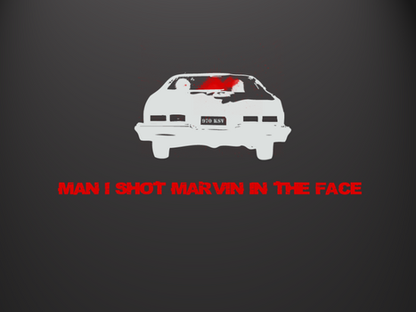 Pulp Fiction Marvin Wallpaper by zywy