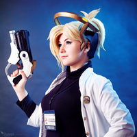 Doctor Angela Ziegler - Overwatch by Shappi