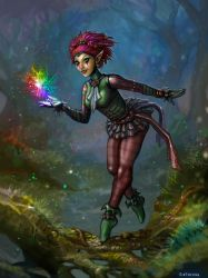 The Feywild Jester by SirTiefling