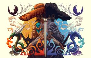 Mariachi vs. Afro colors by DRPR