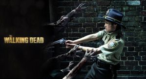 THE WALKING DEAD: Stay out of the city by Blackcrane56