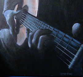 Me and my guitar by Marlisa