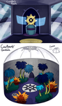 SSOCT: Cove's room and misc Courtyard. by serpyra