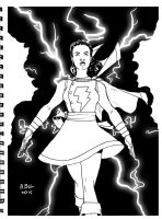 DSC Mary Marvel by abelgrave