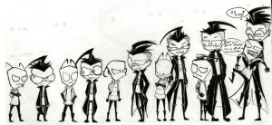 Height Chart of DOOM by crystalice96
