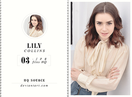 Photopack 1366 // Lily Collins by HQSource