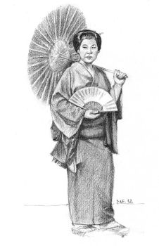 Japanese Woman by nunofrias