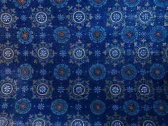 Blue tapestry by SolStock