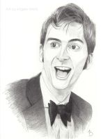 David Tennant - Sketch Portrait by AngelynnB