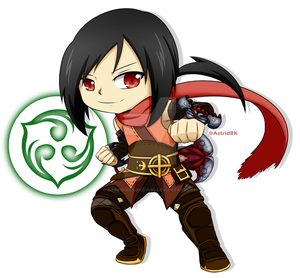 Dragon Nest: AricWilrad-Assassin by Astrid-RenjiKoyuki