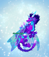 [CLOSED] Adopt auction - Fairy Dragon by visualkid-adopts