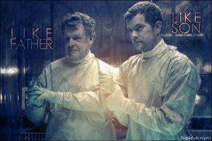 like father, like son by fugue-designs