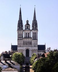 Cathedral of Angers by UdoChristmann