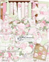 [Share Scrapbooking #6] Holiday Bouquet by hoshi-langefia