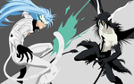 Grimmjow and Ulquiorra - Bleach by Dingier