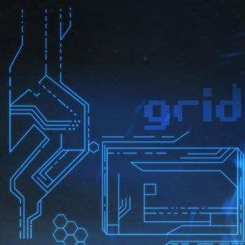 The Grid: Brushes by Hybridgothica by hybridgothica