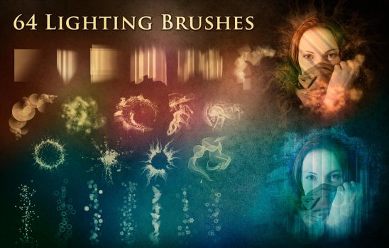 64 Lighting Brushes by XResch