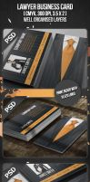 Lawyer Business Card by VadimSoloviev