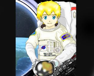 Takeru Takaishi the astronaut explorer by smash222
