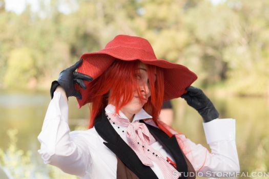 Fashionable Grell by Stormfalcon