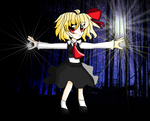 Rumia ~ Apparitions Stalk the Night by TheGreatMarioPerson