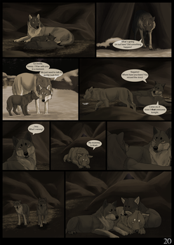 The Wolves Of Chena Page 20 by Yamis-Art