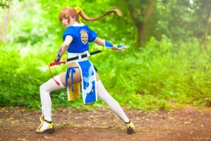 Kasumi - Dead or Alive 5 by Paper-Cube