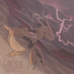 Lance Dragonite by Reina-Kitsune