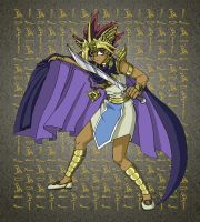 Yugioh:  Pharoah Atem by mystryl-shada