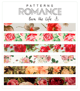 ROMANCE (Patterns + Textures) by Burn-the-life