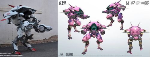 Dva Meka Cosplay from Overwatch by GunGryphon